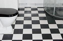 Nybyggnation av badrum.